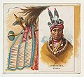 Arkikita, Otoes, from the American Indian Chiefs series (N36) for Allen & Ginter Cigarettes MET DP838927.jpg