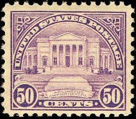Arlington Amphitheater 1922 U.S. stamp.1