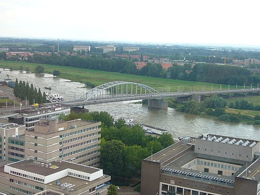 Arnhem Bridge panorama