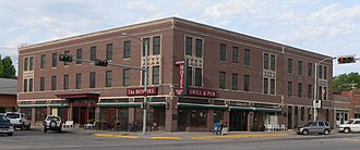 National Register of Historic Places listings in Custer County, Nebraska - Image: Arrow Hotel from NE