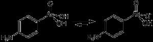 Strukturformel von Arsanilsäure