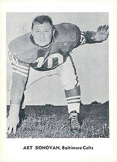 Art Donovan American football player (1924-2013)