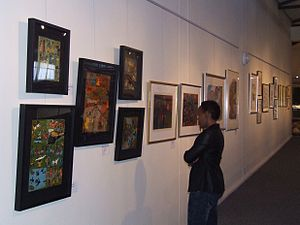 George Museum - Art exhibition in the Sayers Hall