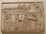 Artemis, Latona, Apollo and Nike (Antikensammlung Berlin) casting in Pushkin museum 01 by shakko.jpg