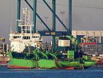 Artevelde (ship, 2009) - IMO 9501954 Hopper Dredger, Port of Rotterdam.JPG