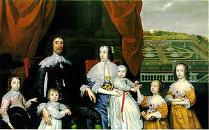 Arthur Capell, 1st Baron Capell of Hadham - Arthur Capell, 1st Baron Capell of Hadham, and his Family, by Cornelius Johnson, National Portrait Gallery, London