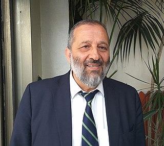 Aryeh Deri Israeli politician