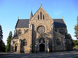 As, Belgium - St Theresa's church