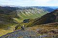 Ascending a peak between the Savage River and Riley Creek drainages. Denali National Park, Alaska.jpg