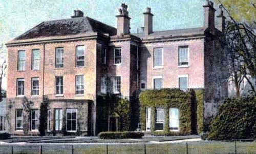 Ashbourne Hall Hotel postcard 1900