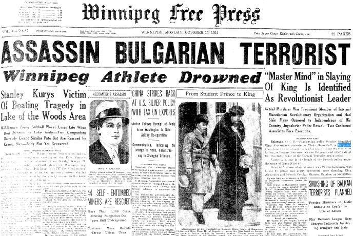 Assassin Bulgarian terrorist