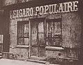 Atget, Eugène - Ladenschilder, »Figaro Populaire« (Zeno Fotografie).jpg