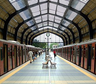 Piraeus station - Line 1 station