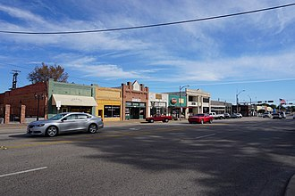 Texas State Highway 31 - Texas State Highway 31 as East Tyler Street in Athens