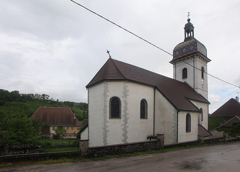 Église d'Aubonne (Doubs).