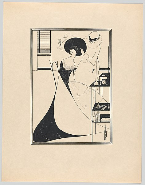File:Aubrey Beardsley's Illustrations to Salome by Oscar Wilde MET DP863680.jpg