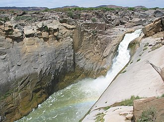 South African National Parks - Image: Augrabie, Waterfalls, South Africa