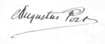 Augustus T. Post Signature.png