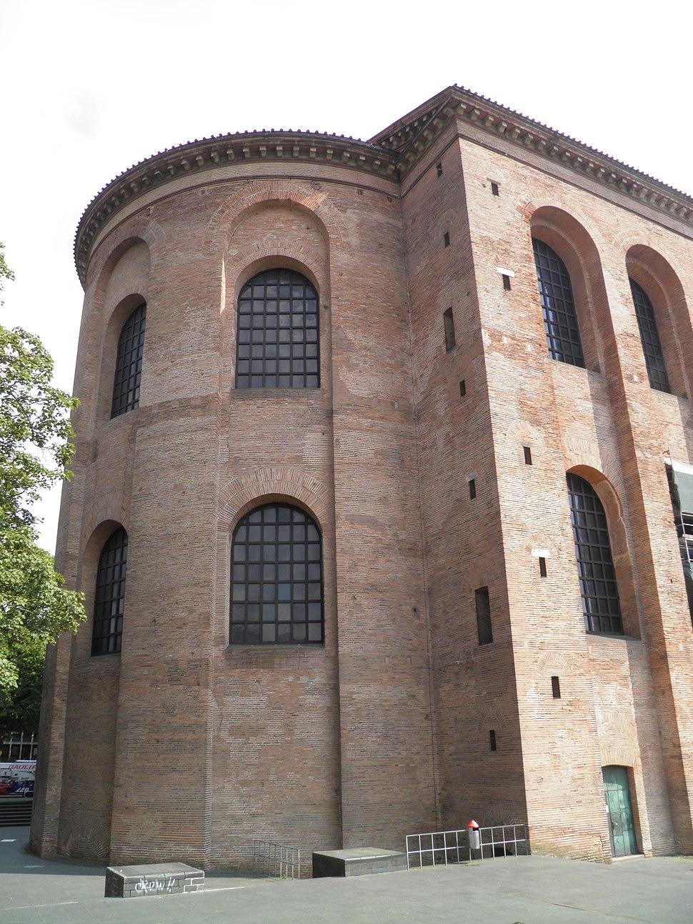 Aula Palatina (Basilica of Constantine), Augusta Treverorum, Trier (8749080929)
