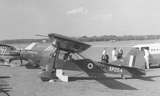 Auster AOP.9 - The Auster AOP.11 exhibited at the Farnborough Air Show in September 1961