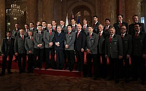 Austria at the 2014 Winter Olympics - The Austrian men's alpine skiing team