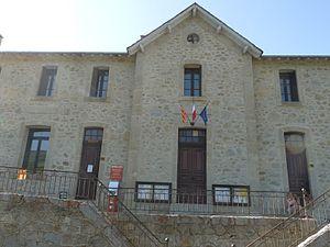 Ayguatébia-Talau - The town hall in Ayguatebia