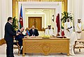 Azerbaijan, Qatar signed documents, 2017 01.jpg
