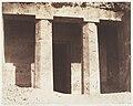 Béni Haçan, Architecture Hypogéenne, Tombeau d'Amoneï MET DP144517.jpg