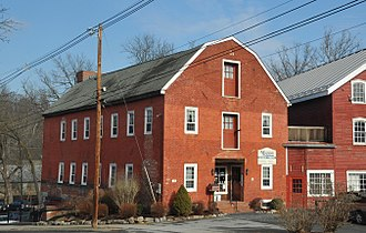 Belvidere, New Jersey - Twin mills in Belvidere Historic District