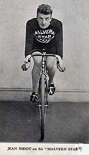 Jean Bidot French cyclist