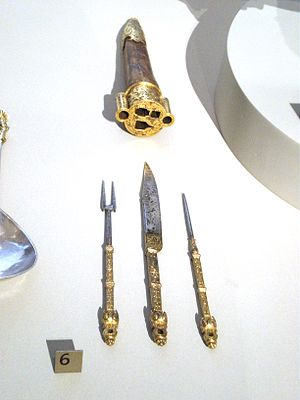 Cutlery - French travelling set of cutlery, 1550–1600, Victoria and Albert Museum