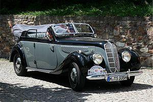 BMW 335 - Image: BMW 335 Cabriolet, Bj. 1939