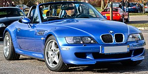 BMW M Roadster - Image: BMW Z3 M Flickr Alexandre Prévot (cropped)