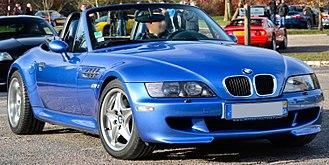 BMW M Roadster - Image: BMW Z3 M Flickr Alexandre Prévot (cropped)