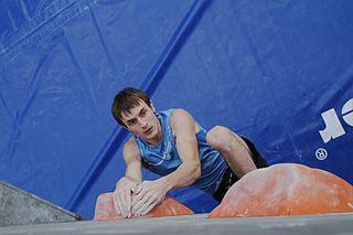 Dmitri Sarafutdinov Russian climber