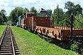 Bachórz, železniční muzeum, vůz na dřevo.jpg