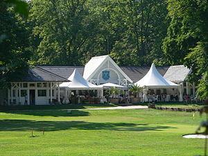 Bad Homburg vor der Höhe - Bad Homburg Golf Club House in the Kurpark