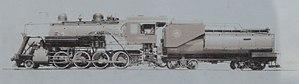 Trona Railway - Baldwin steam locomotive of Trona Railway