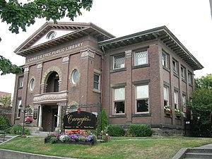 Ballard Carnegie Library - The library, circa 2007.