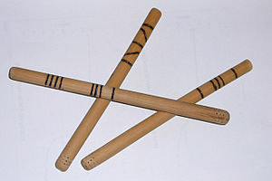 Mate (drink) - Homemade bamboo bombillas