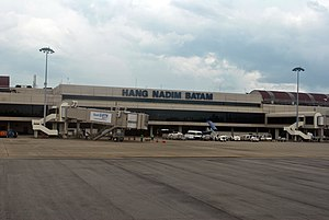 Riau Islands - Hang Nadim International Airport, Batam.