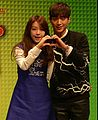 Bang Min-ah and Seo Kang-joon 20141027.jpg