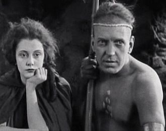 Barbara Bedford (actress) - Bedford and her future husband Alan Roscoe in The Last of the Mohicans
