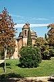 Barcelona - Parc de la Ciutadella - Passeig dels Tillers - View NE on Ciutadella chapel 1728 by Prosper de Verboom.jpg