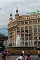 Barcelona - Plaça de Catalunya - View NW I.jpg