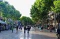 Barcelona - Rambla de Santa Monica - View NW.jpg