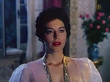 Ava Gardner a The barefoot contessa (1954)