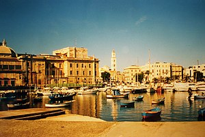Metropolitan City of Bari - Bari Harbour