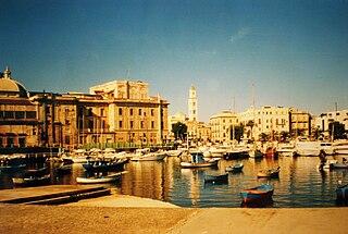 Metropolitan City in Apulia, Italy
