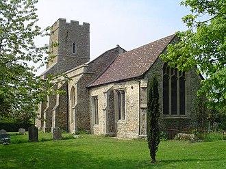 Grade II* listed buildings in St Edmundsbury (borough) - Image: Barnardiston All Saints Church (geograph 1958706)